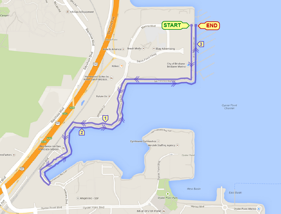 Waterfront 5K & Kids Run @ Sierra Point Marina | Brisbane | California | United States