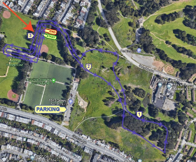 Crocker Amazon Cross Country 5K & Kids Run @ Crocker Amazon Park | San Francisco | California | United States