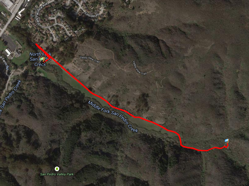 San Pedro Park 2M/10K [Off-Road] @ San Pedro Park - North Walnut Picnic area | Pacifica | California | United States