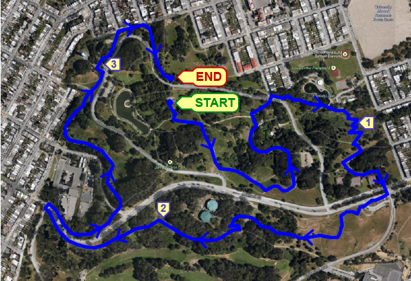 McLaren Park 5K [Off-Road] @ Picnic area off of John F. Shelley Drive. Enter park via Mansell Street. | San Francisco | California | United States