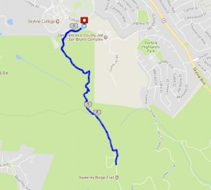 Sweeney Ridge Trail 5K @ Skyline College at the Notch Trail trailhead | San Bruno | California | United States