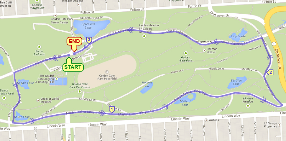 Spreckels Lake 5K - MEMBERS ONLY @ JFK Dr & 36th Ave (across from Spreckles Lake) | San Francisco | California | United States