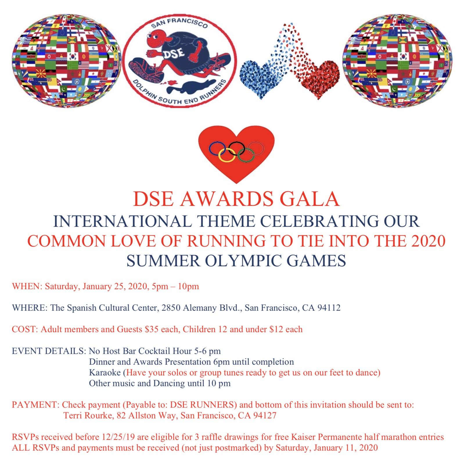 DSE Gala Invitation 2020
